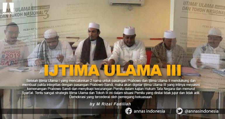 IJTIMA ULAMA III