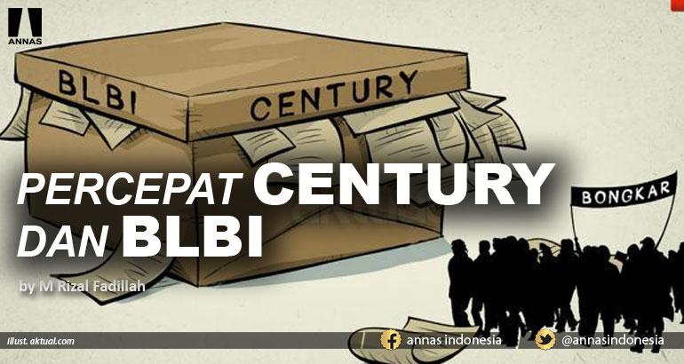 PERCEPAT CENTURY DAN BLBI