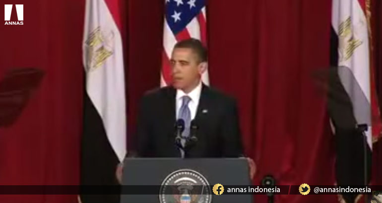 "Obama has announced "" ISLAM IS PART OF AMERICA"""