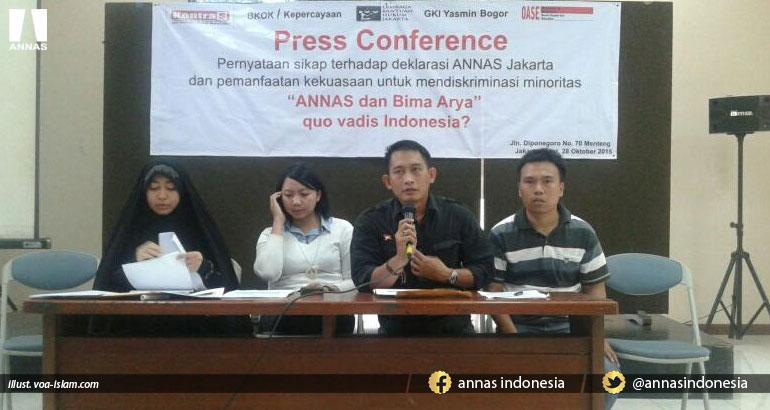 SYIAH GUGAT BIMA ARYA DAN ANNAS DKI JAKARTA