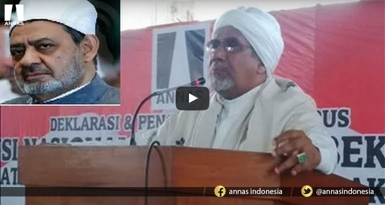 NASEHAT HABIB AHMAD ZEIN ALKAF UNTUK PROF. AHMAD AL-THAYYIB