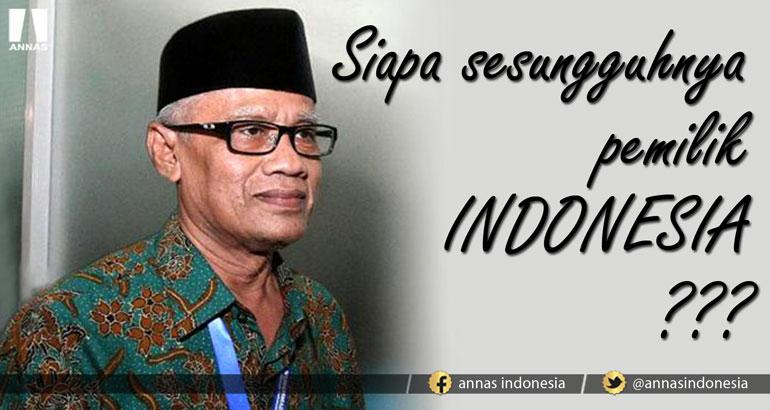 INDONESIA SIAPA PUNYA ?