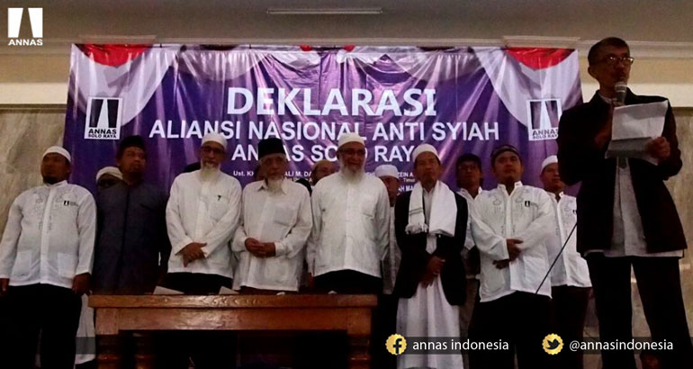 RIBUAN UMAT ISLAM SAKSIKAN DEKLARASI ANNAS SOLO RAYA