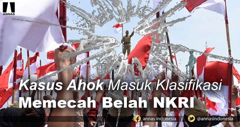 Ketua Ombudsman: KASUS AHOK MASUK KLASIFIKASI MEMECAH BELAH NKRI