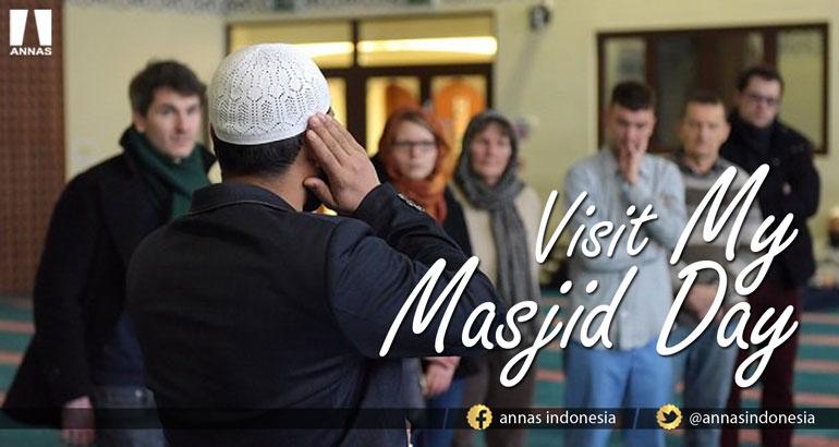MUSLIM INGGRIS KEMBALI GELAR 'VISIT MY MASJID DAY' BAGI NON MUSLIM