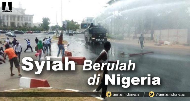 SYIAH BERULAH DI NEGERIA