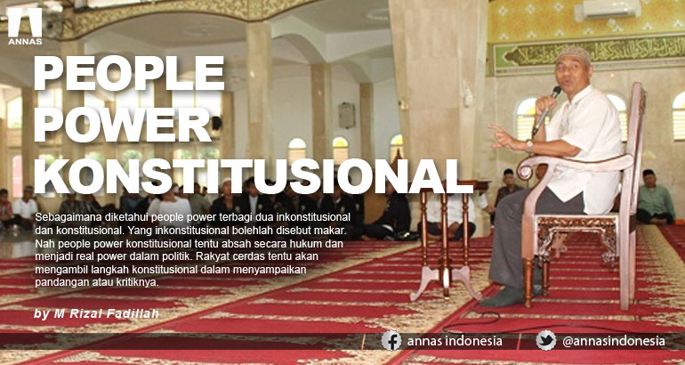 PEOPLE POWER KONSTITUSIONAL
