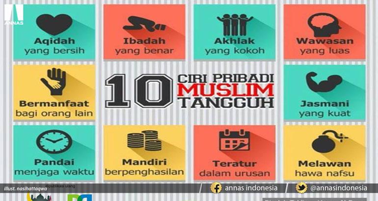10 CIRI PRIBADI MUSLIM