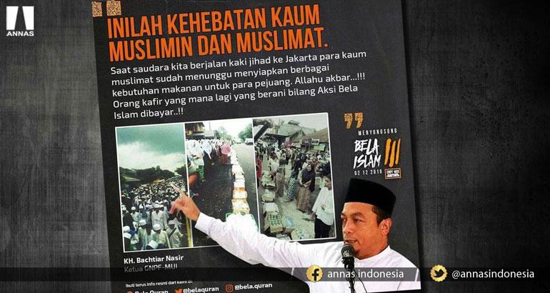 KH Bachtiar Nasir: KAFILAH JALAN KAKI CIAMIS, INILAH KEHEBATAN UMAT ISLAM!