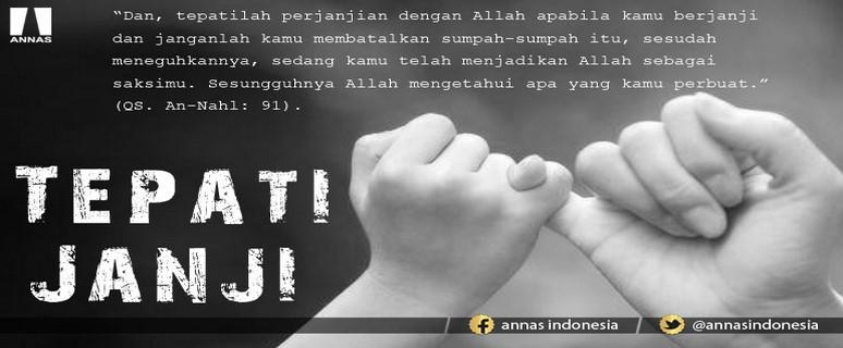 HUKUM MENEPATI JANJI DAN MENGINGKARINYA DALAM ISLAM