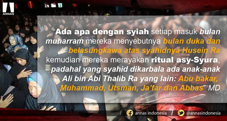 GAGAL PAHAM ASY-SYURA SYIAH