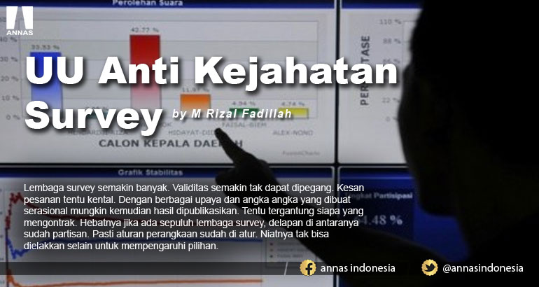 UU Anti Kejahatan Survey