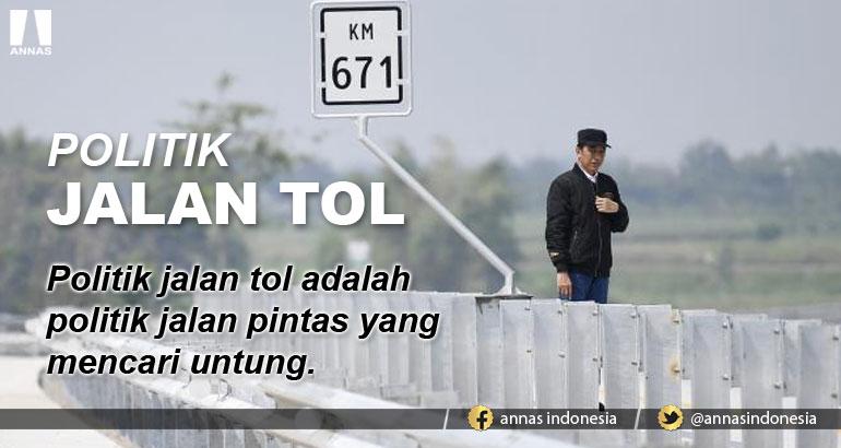 POLITIK JALAN TOL