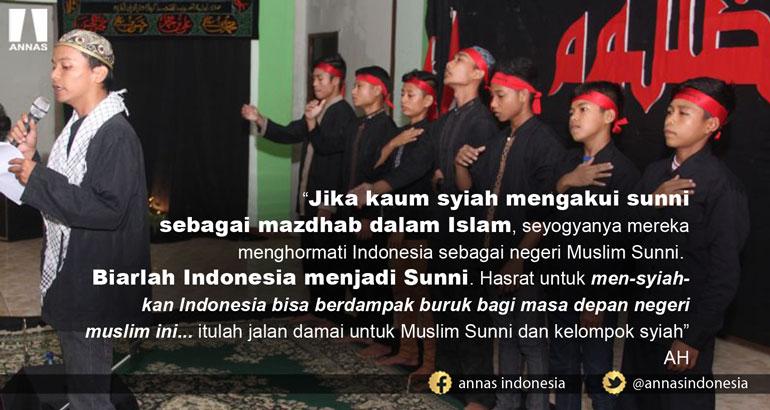 MEN-SYIAH-KAN INDONESIA BISA BERDAMPAK BURUK BAGI MASA DEPAN NEGERI MUSLIM INI