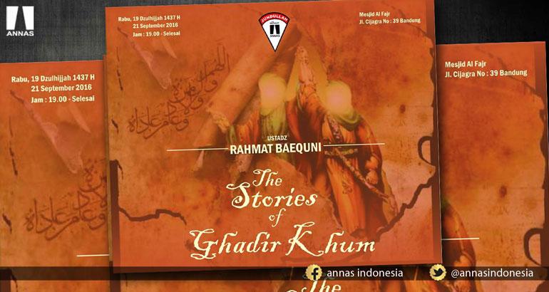 THE STORIES OF GHADIR KHUM