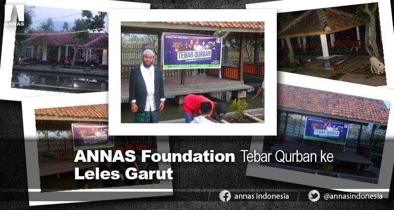 ANNAS Foundation Tebar Qurban ke Leles Garut