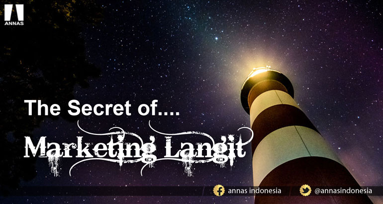 THE SECRET OF..... MARKETING LANGIT